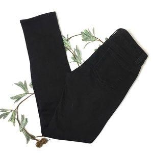 Kut From The Kloth Black Straight Leg Jeans